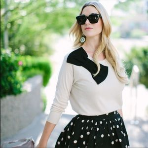 Kate Spade || NWT Slouchy Raglan Sweater Size XL